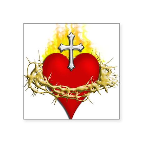 Sacred Heart Sticker