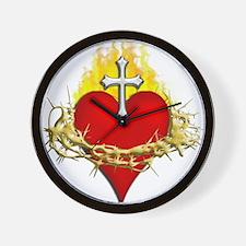 Sacred Heart Wall Clock