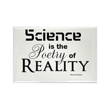 Science is Poetry Rectangle Magnet