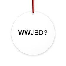 WWJBD Ornament (Round)