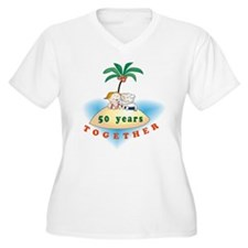 50together_island Plus Size T-Shirt