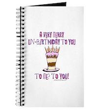 Un-Birthday Journal