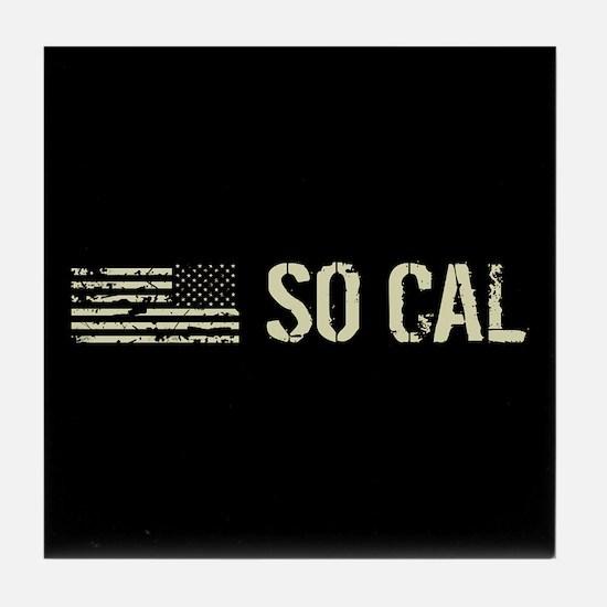 Black Flag: So Cal Tile Coaster