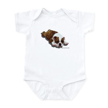 Bulldog Puppy 2 Infant Bodysuit