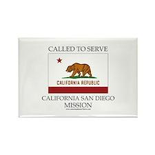 California San Diego Mission - California Flag - C
