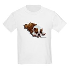 Bulldog Puppy 2 Kids T-Shirt