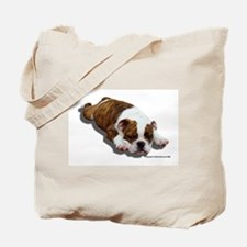 Bulldog Puppy 2 Tote Bag