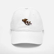 Bulldog Puppy 2 Baseball Baseball Cap