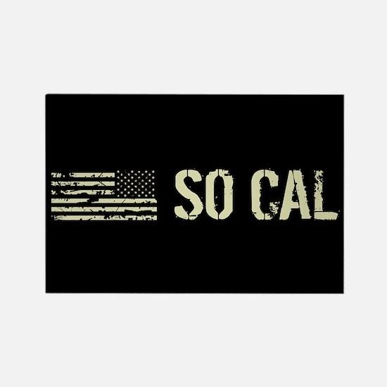 Black Flag: So Cal Rectangle Magnet
