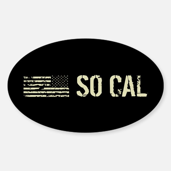 Black Flag: So Cal Sticker (Oval)