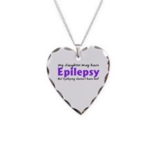 My daughter may have epilepsy Necklace