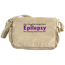 My daughter may have epilepsy Messenger Bag