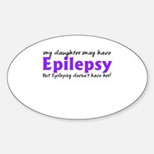 My daughter may have epilepsy Decal