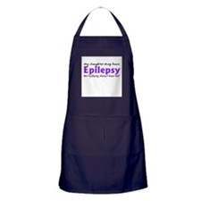 My daughter may have epilepsy Apron (dark)
