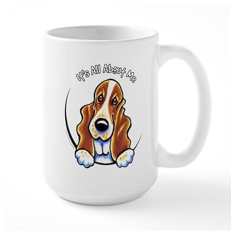 Basset Hound IAAM Large Mug