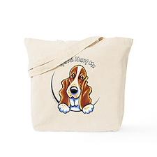 Basset Hound IAAM Tote Bag