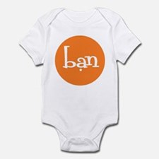 Friend Orange Infant Bodysuit