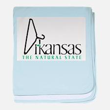 Abandoned in Arkansas baby blanket