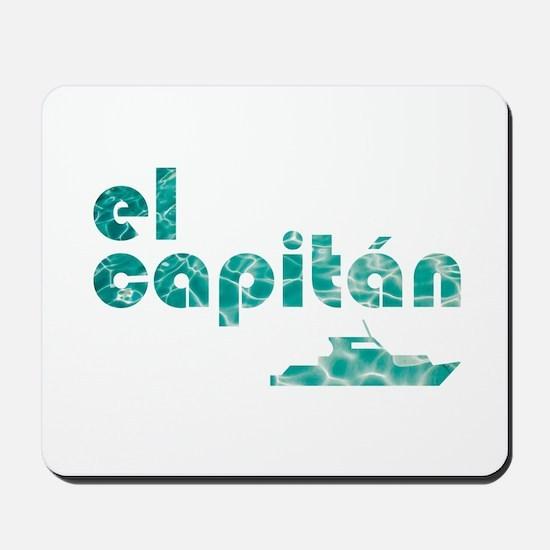 el capitán Mousepad