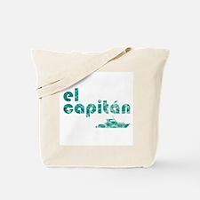 el capitán Tote Bag