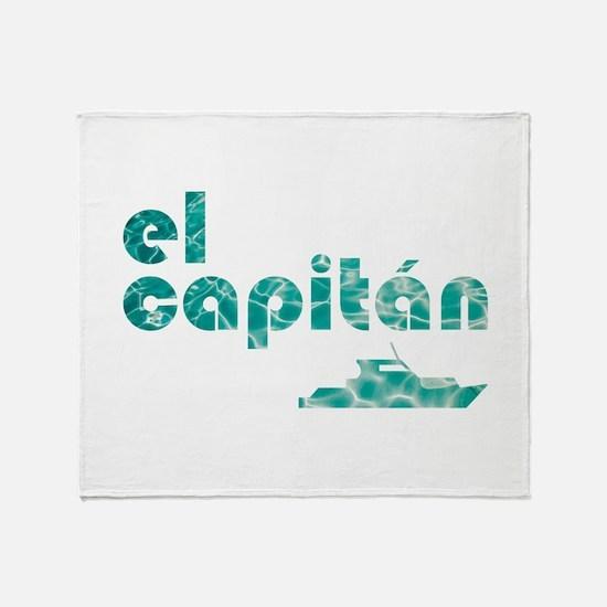 el capitán Throw Blanket