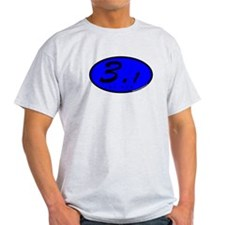 Blue Oval 3.1 Miles 5k T-Shirt