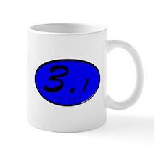 Blue Oval 3.1 Miles 5k Mug
