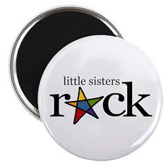 little sister rock (star) Magnet