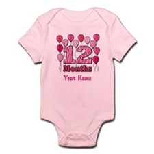 Twelve Months - Baby Milestones Body Suit