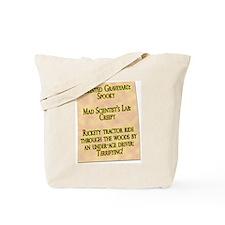 Funny Haunted Tote Bag