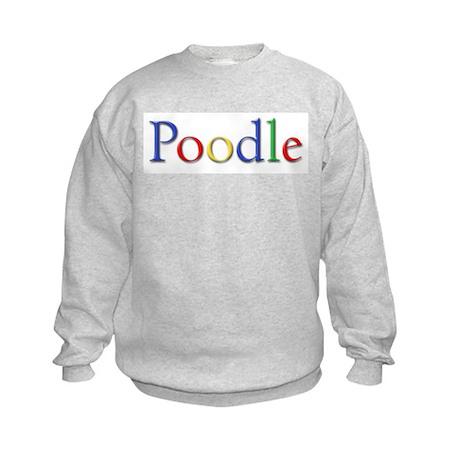 Poodle Kids Sweatshirt