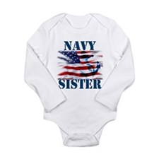 Navy Sister Body Suit