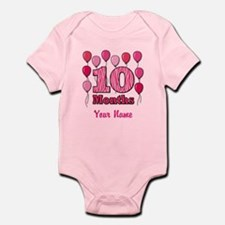 Ten Months - Baby Milestones Body Suit