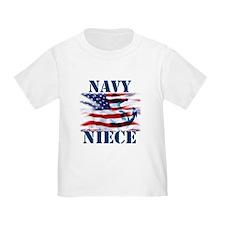 Navy Niece T-Shirt