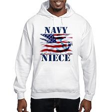 Navy Niece Hoodie