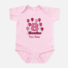 Eight Months - Baby Milestones Body Suit