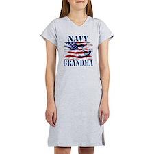 Navy Grandma Women's Nightshirt