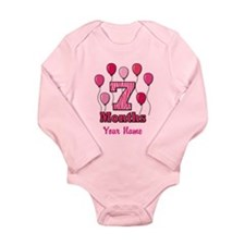 Seven Months - Baby Milestones Body Suit