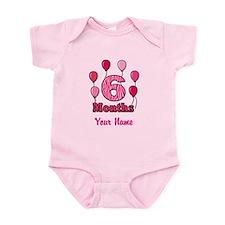 Six Months - Baby Milestones Body Suit