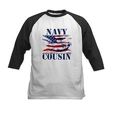 Navy Cousin Baseball Jersey