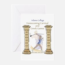 Adams College Homecoming Greeting Cards (Package o