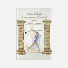Adams College Homecoming Rectangle Magnet