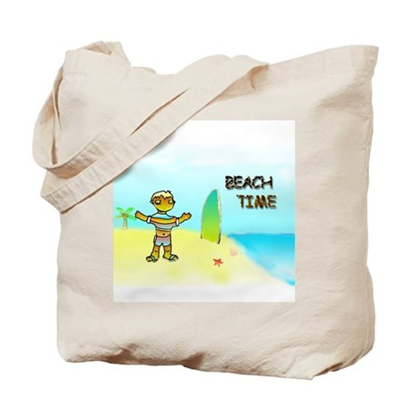 Beachtime Tote Bag
