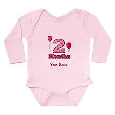 Two Months - Baby Milestones Body Suit