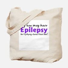 My son may have epilepsy Tote Bag