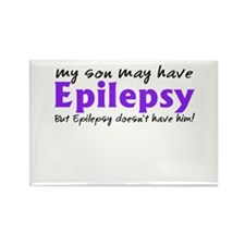 My son may have epilepsy Rectangle Magnet