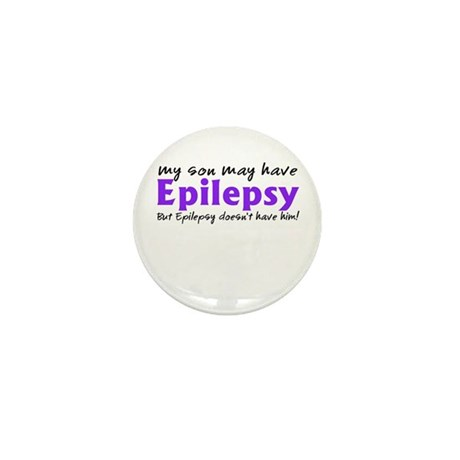 My son may have epilepsy Mini Button (10 pack)
