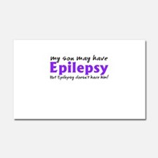 My son may have epilepsy Car Magnet 20 x 12