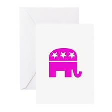 RepublicanGirl3 copy Greeting Cards
