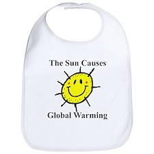 Sun Causes Global Warming Bib